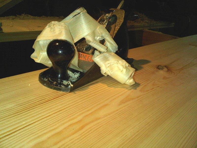 Zaans timmerwerk - schaaf