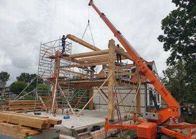 houtskelet-bouw