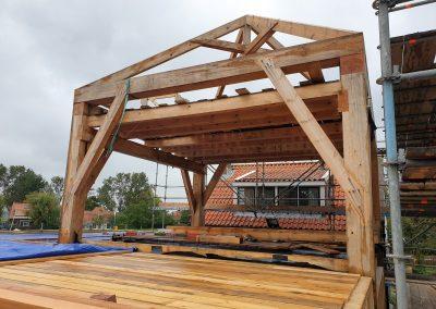houtskelet-bouw-dak