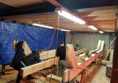 houtskelet-maken